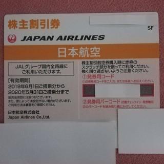 JAL(日本航空) - JAL 株主優待券 1枚 送料込