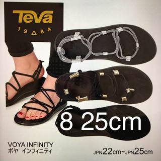 ドゥーズィエムクラス(DEUXIEME CLASSE)の専用  新品未開封TEVA ボヤインフィニティ ゴールド サイズ8(25cm)(サンダル)
