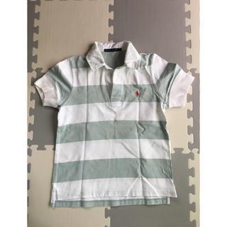 ラルフローレン(Ralph Lauren)のラルフローレン ボーダー半袖ラガーシャツ(ポロシャツ)
