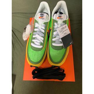サカイ(sacai)の国内正規品 27cm sacai Nike LDWaffle 緑 グリーン(スニーカー)