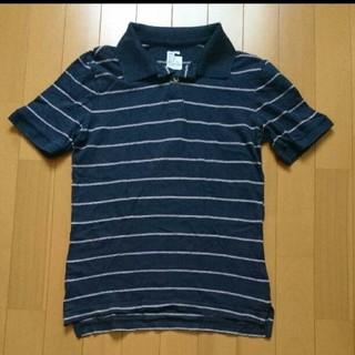 ギャップ(GAP)のGap ギャップ ポロシャツ ネイビー/ピンク サイズXS(ポロシャツ)