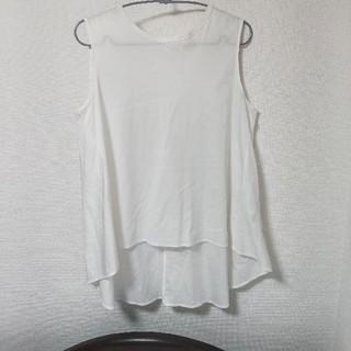 デミルクスビームス(Demi-Luxe BEAMS)のデミルクスビームス 後ろフレアタンク(Tシャツ(半袖/袖なし))
