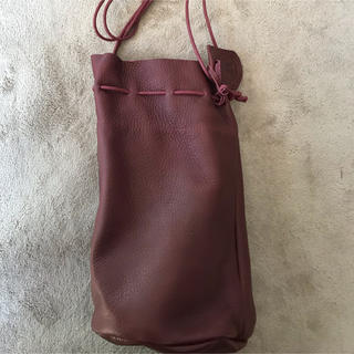 40effac82eca レン(REN)の限定カラー REN レン 巾着 レザー キャニスターボトル(ハンドバッグ)