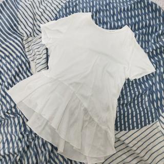 デミルクスビームス(Demi-Luxe BEAMS)のデミルクスビームス フリルアシメヘムプルオーバー(Tシャツ(半袖/袖なし))