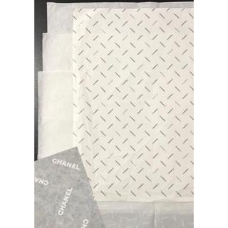 CHANEL - CHANEL 包装紙 & ロゴ入りペーパー 3枚セット〈非売品〉