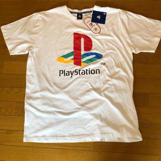 しまむら - [新品] 4L Tシャツ しまむら プレステ コラボ プレイステーション 黒