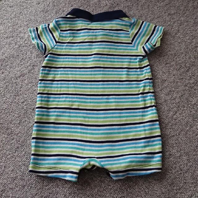 babyGAP(ベビーギャップ)のbaby gap ポロシャツ ロンパース 70 男の子 キッズ/ベビー/マタニティのベビー服(~85cm)(ロンパース)の商品写真