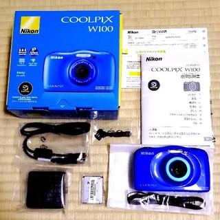 ニコン(Nikon)の本日限定値下げ❗【美品】防水デジカメ❗Nikon【COOLPIX W100】(コンパクトデジタルカメラ)