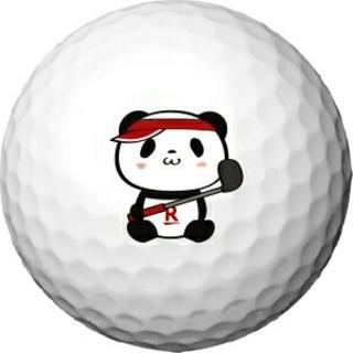 ラクテン(Rakuten)のゴルフボール お買いものパンダ(非売品) 1ダース(その他)