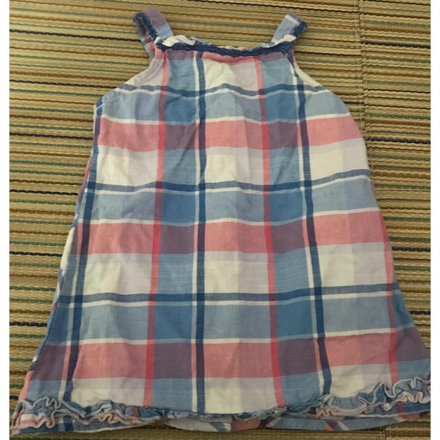 WILL MERY(ウィルメリー)の丸高衣料チェックワンピ キッズ/ベビー/マタニティのキッズ服 女の子用(90cm~)(ワンピース)の商品写真