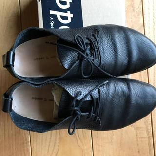 トリッペン(trippen)のトリッペン pot 黒 37(ローファー/革靴)