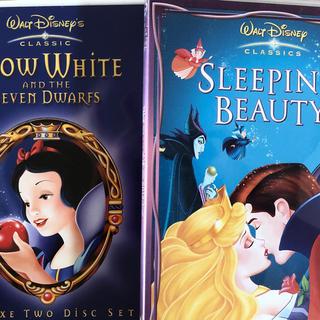 ディズニー(Disney)のDisney プリンセス DVDデラックス 2組セット(アニメ)