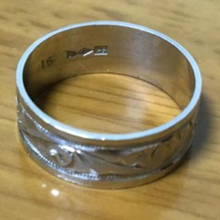 プラチナ 850 指輪 リング