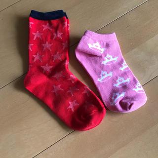 ユニクロ(UNIQLO)の新品女児靴下(靴下/タイツ)