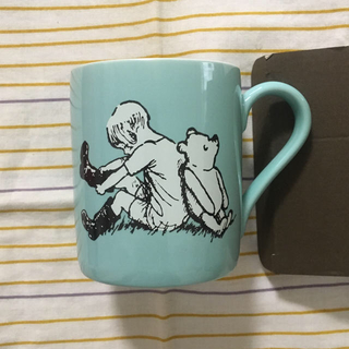 くまのプーさん - Classic Pooh マグカップ ミントグリーン くまのプー展限定品