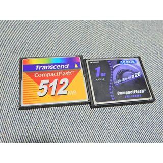 トランセンド(Transcend)の△*コンパクトフラッシュ 512MB Transcend KTN3 512MCP(その他)