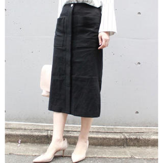 Noble - 美品★ Spick and Span Noble リネンスカート
