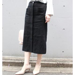 ノーブル(Noble)の美品★ Spick and Span Noble リネンスカート(ロングスカート)