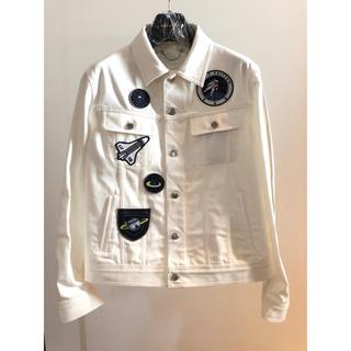 ルイヴィトン(LOUIS VUITTON)の ◆Louis Vuitton 19SS最新作◆パッチ付き デニムジャケット◆ (Gジャン/デニムジャケット)