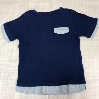 ジーユー(GU)の【美品】GU キッズ Tシャツ 130cm(Tシャツ/カットソー)