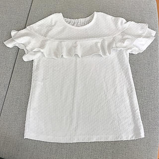ジーユー(GU)のキッズ 女の子 トップス Tシャツ 半袖 140(Tシャツ/カットソー)