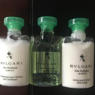 ブルガリ(BVLGARI)のBVLGARI ブルガリ アメニティトラベルセット(シャンプー)