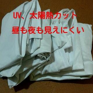 ミラーレースカーテン 100×176 2枚(レースカーテン)