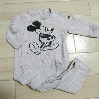 BREEZE - BREEZE ミッキーマウス 長袖ロンパース