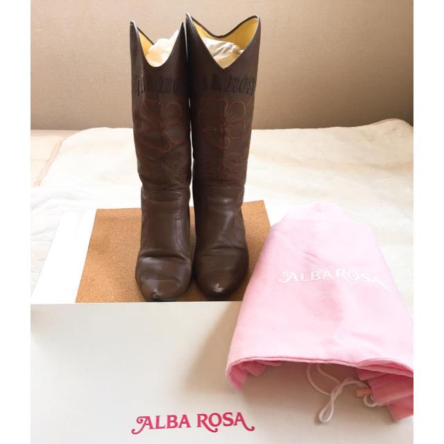 ALBA ROSA(アルバローザ)のALBA ROSA   ウエスタンブーツ レディースの靴/シューズ(ブーツ)の商品写真