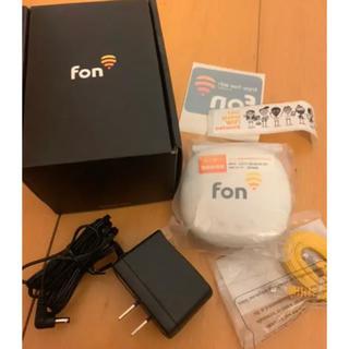 Fon WiFi ルーター 【新品未使用!】