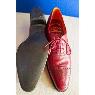 カルミナ(CARMINA) レディース キャップトウ アンバー 23.0(ローファー/革靴)