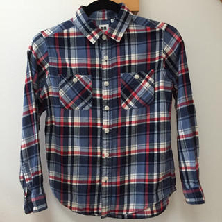 ユニクロ(UNIQLO)のネルシャツ 150(ブラウス)