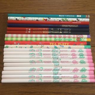 ミツビシエンピツ(三菱鉛筆)の鉛筆いろいろ19本とおまけ4本のセット(鉛筆)