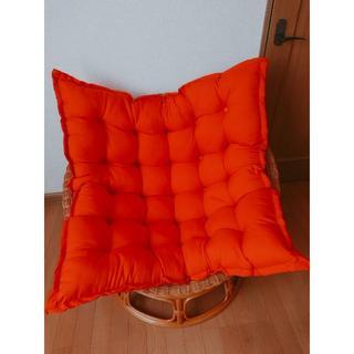ラタン丸椅子