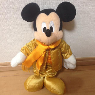 ミッキーマウス(ミッキーマウス)の新品 ディズニーリズムオブワールド ミッキー ぬいぐるみ ディズニーシー TDS(ぬいぐるみ)