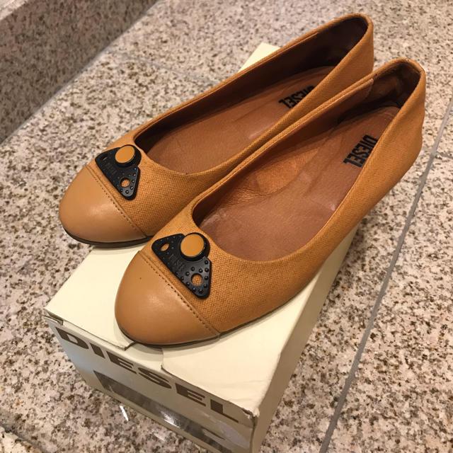 DIESEL(ディーゼル)のDIESELローシューズ 23 レディースの靴/シューズ(バレエシューズ)の商品写真