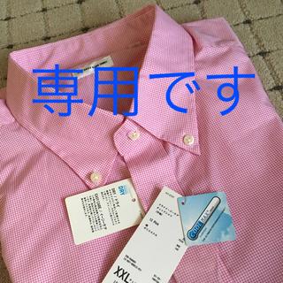 ユニクロ(UNIQLO)のナーツ様専用❗️ユニクロ メンズ ドライイージーケア チェックシャツ(シャツ)