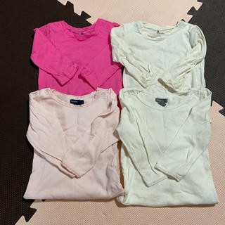 ベビーギャップ(babyGAP)の女の子 80 ロンパース 長袖 まとめ売り(ロンパース)