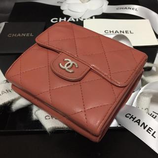6d026a637605 シャネル(CHANEL)のレア✨CHANELコンパクト財布✨マトラッセ✨シルバーCC✨