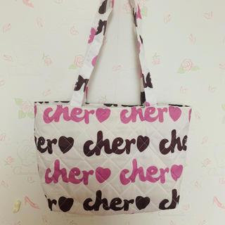 シェル(Cher)の新品 cher バッグ シェル(トートバッグ)