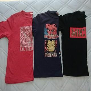 ジーユー(GU)のTシャツ 3点  140・150㎝(Tシャツ/カットソー)