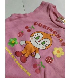 アンパンマン - ドキンちゃん 90cm ノースリーブ ピンク