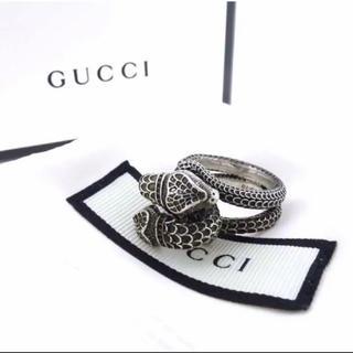 グッチ(Gucci)のGUCCI グッチ ガーデン スネーク リング(リング(指輪))