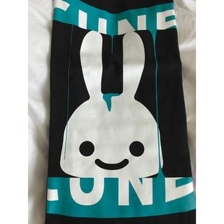 キューン(CUNE)の未使用 CUNE Tシャツ 横パックリ(Tシャツ/カットソー(半袖/袖なし))