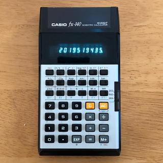 CASIO - CASIO FX-140 関数電卓 蛍光管表示 80sレトロ文具