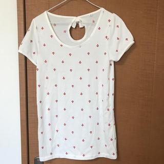 シマムラ(しまむら)の半袖 Tシャツ カットソー レディース(Tシャツ(半袖/袖なし))