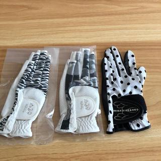 PEARLY GATES - 即購入OK 新品 fit39 nail ゴルフ グローブ 右利き用 3枚セット