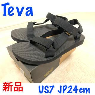Teva - 新品 テバ サンダル teva 24cm 黒