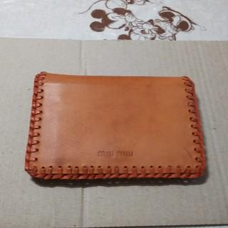 ミュウミュウ(miumiu)のmiu miu❗️新品❗️本革❗️財布❗️(財布)