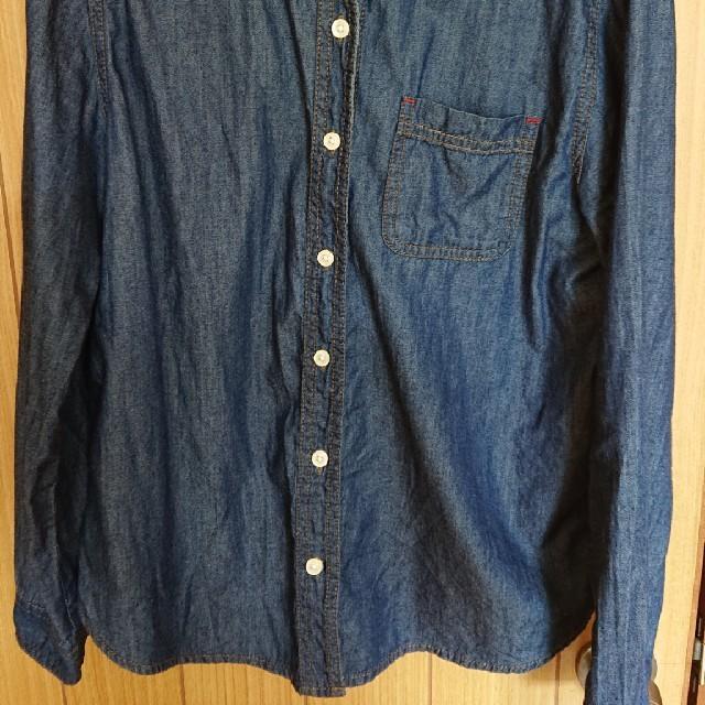 しまむら(シマムラ)のデニムシャツ しまむら レディースのトップス(シャツ/ブラウス(長袖/七分))の商品写真